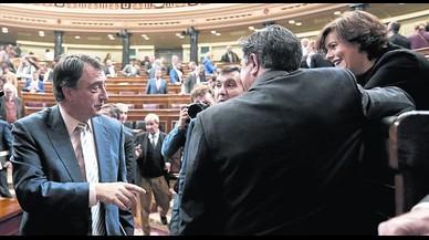 """El PNV, """"mimado y consentido"""" en Madrid"""