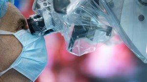 Un doctor en una imagen de archivo.