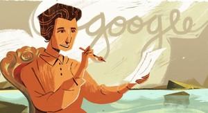 Google homenajea a Carmen Conde en su Doodle