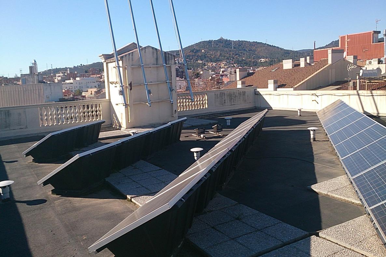 Energía renovable en Sant Boi.