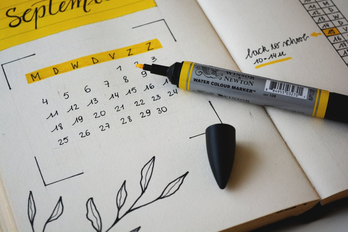Agenda de septiembre para el emprendedor