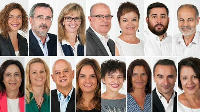 Estos son los 15 diputados socialistas que han votado no a la investidura de Rajoy.