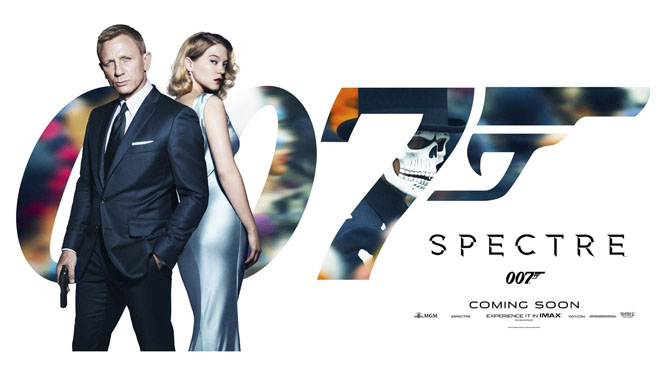 Tráiler de Spectre, la entrega número 24 de la serie de James Bond.