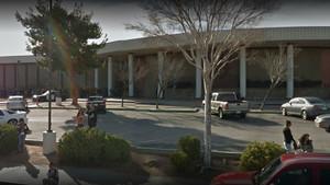Exterior del instituto Highland de Palmdale, en California (EEUU).