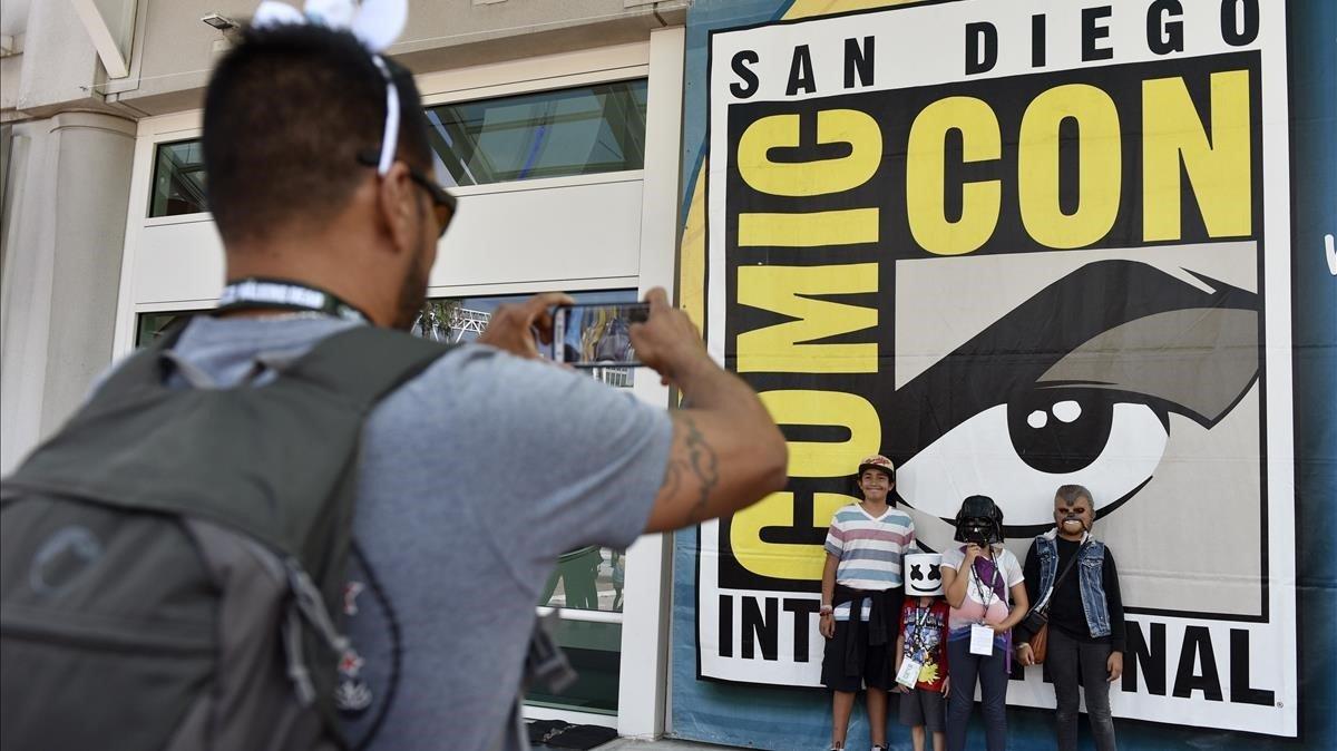 Fans en la Comic-Con de San Diego del año pasado.