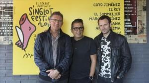 Marc Martínez recupera el seu passat rocker al Singlot