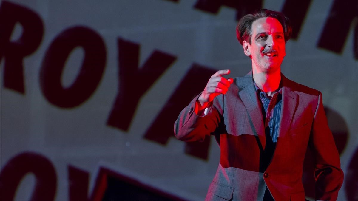 El actor Ernesto Alterio, en una escena de 'Troyanas'.