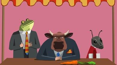 La granota, el bou i la formiga