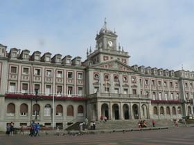 El Ayuntamiento de Ferrol, en una imagen de archivo.