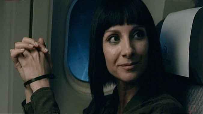 Zulema (Najwa Nimri), en 'Vis a vis' (Fox).Tú y yo somos tres. Por Ferran Monegal.