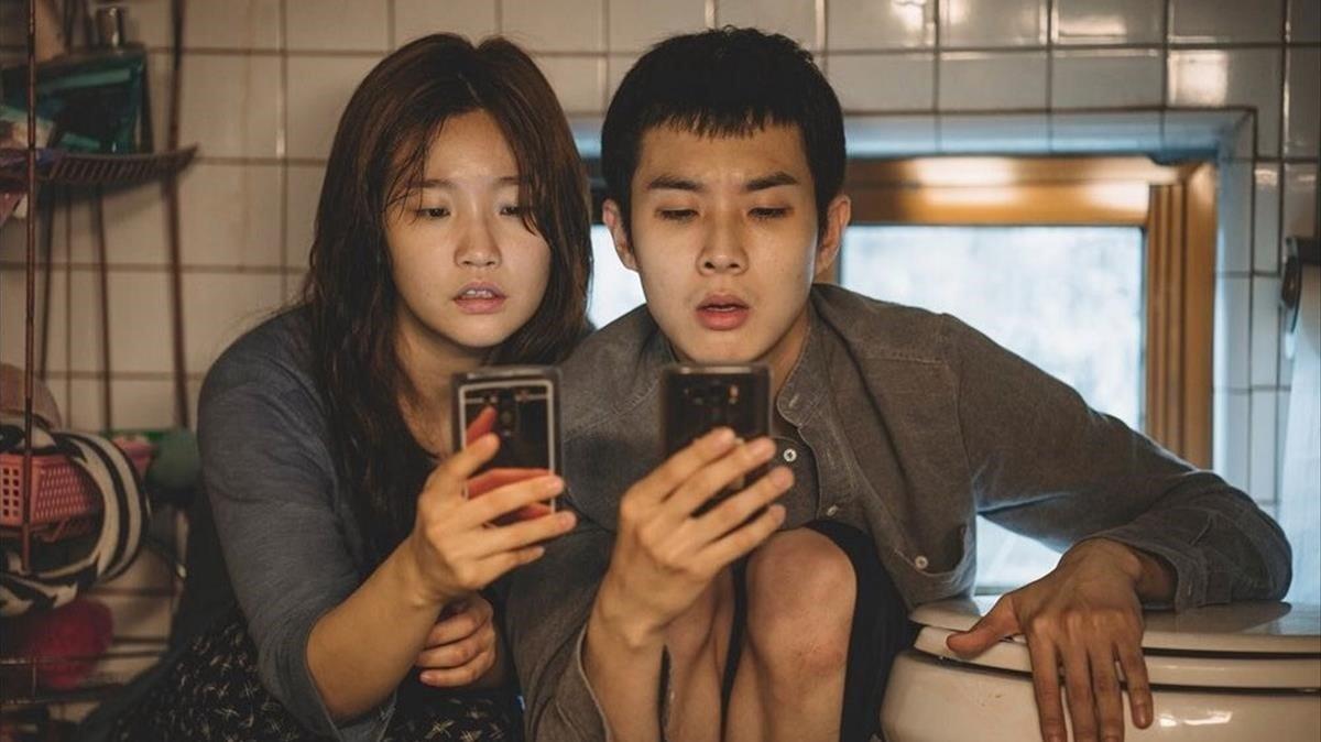 Fotograma de la película 'Parásitos'.