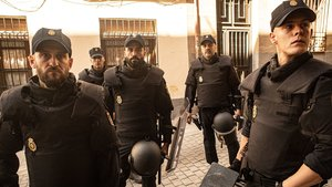 Un fotograma de la serie 'Antidisturbios'