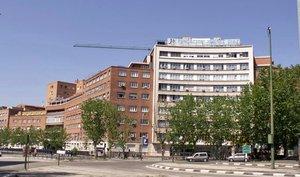 Hospital Universitario Fundación Jiménez Díaz, en Madrid.