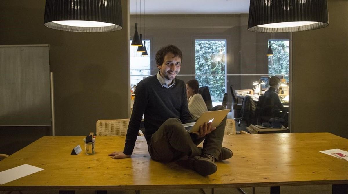 Ramon Vives, director en España de una empresa de audiobranding.