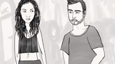 """""""¿Et creus que estàs bona?"""" La il·lustració que parodia la reacció d'alguns homes al rebuig"""