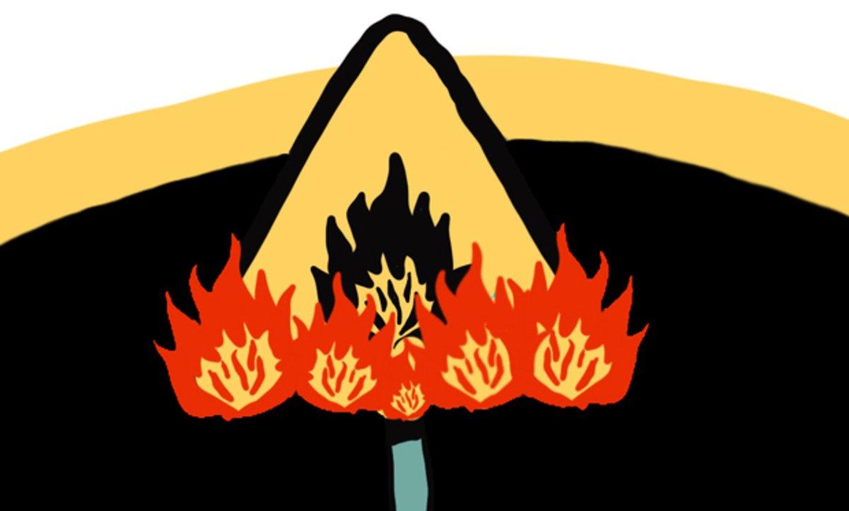 ¿Evacuar o apagar el fuego?