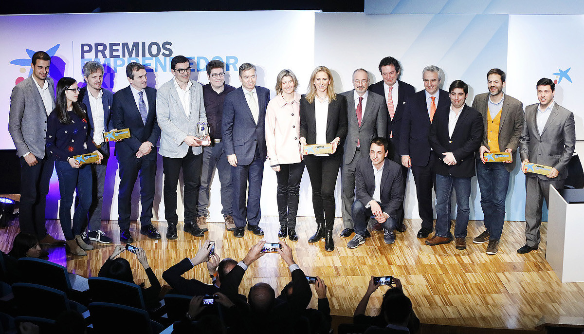 Immunethep, Genially, Sheetgo, Bound 4 Blue y Visual 4.0 ganan los Premios EmprendedorXXI.