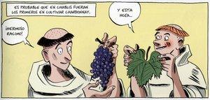 Benoist Simmat y Daniel Casanave repasan (en colores) la larguísima historia del vino en este cómic.