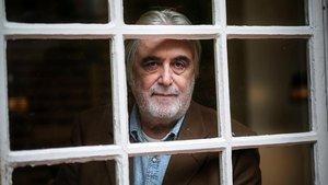 El escritor y editor Jaime Rosal, en La Central de Barcelona, a finales de enero.