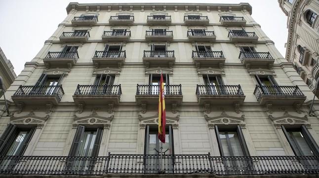 Edificio de la Jefatura de la Policía Nacional en Via Laietana.