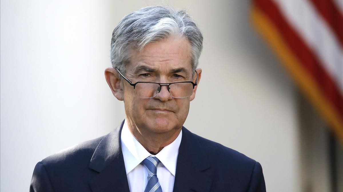 Jerome Powell, presidente de la Reserva Federal (Fed).