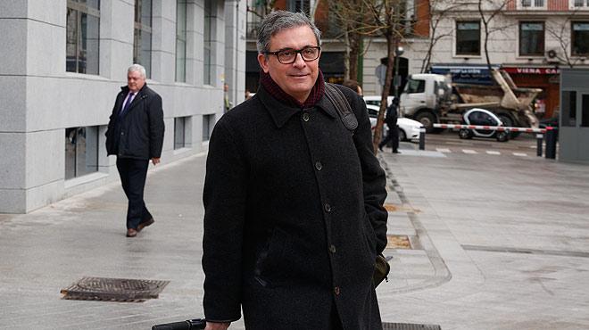 Jordi Pujol Ferrusola va a declarar a l'Audiència Nacional de Madrid.