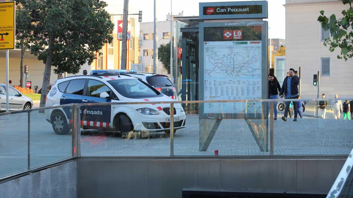 15 jóvenes detenidos por agresión sexual en el metro de Barcelona.