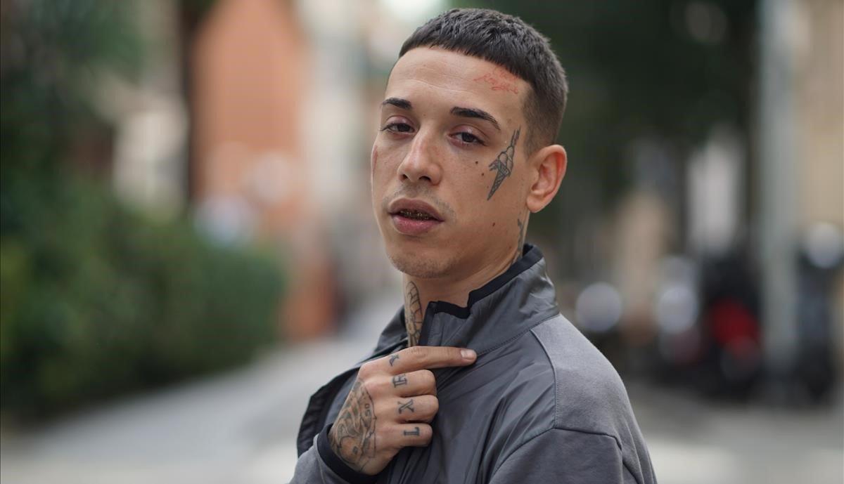 El madrileño Kaydy Cain, este jueves 21 de noviembre en Barcelona