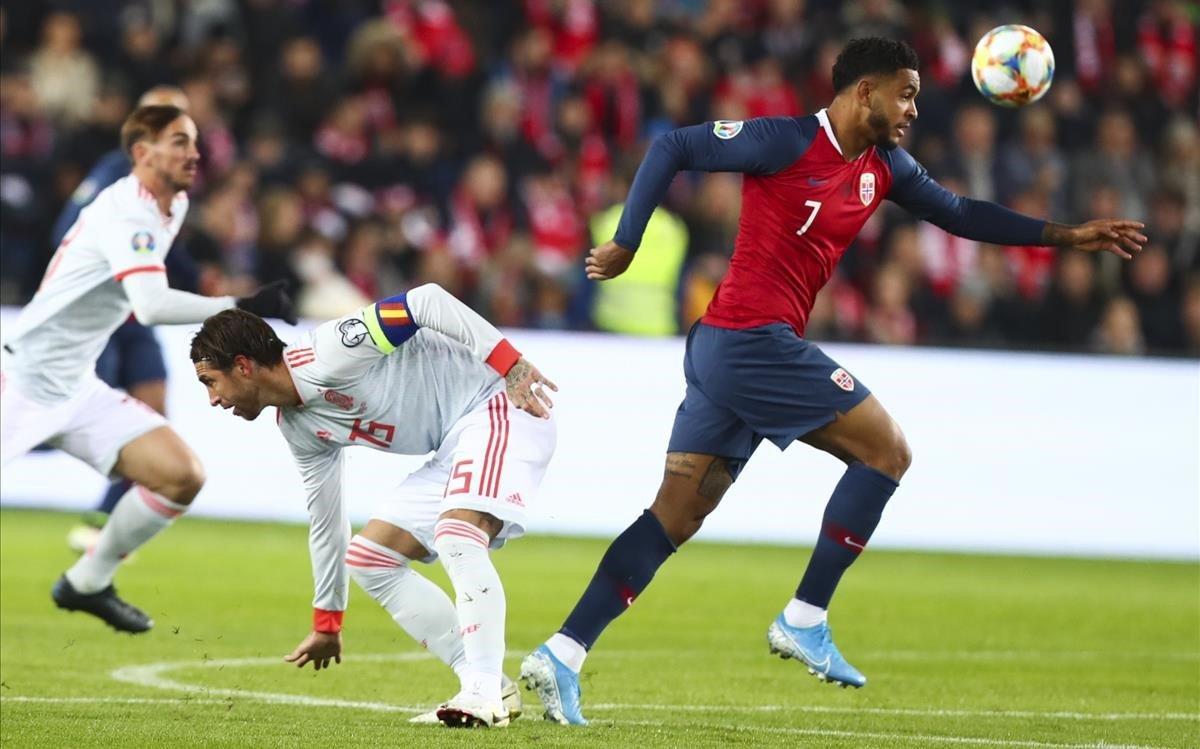 King deja atrás a Ramos en el Noruega-España.