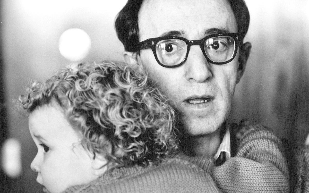 Woody Allen y su hija adopatada Dylan.