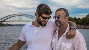 George Michael y Fadi Fawar, en una imagen de archivo.