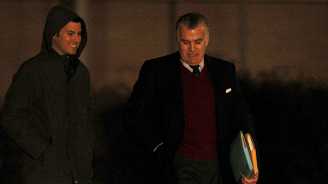 Luis Bárcenas sale de la cárcel