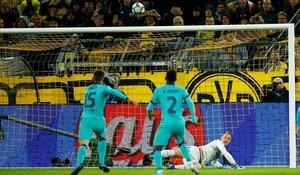 Marc-André Ter Stegen se ha convertido en el héroe del Barcelona deteniendo un penalti a Reus