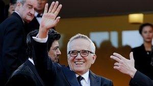 Marco Bellocchio, en el estreno de 'El traidor' en el último festival de Cannes