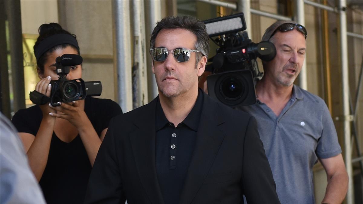 Michael Cohen, el pasado mes de junio en Nueva York.