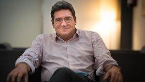 El ministro de Seguridad Social,José Luis Escrivá, durante su entrevista con 'La Provincia'.