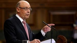 El ministro Montoro ha presentado, esta mañana, los Presupuestos Generales del Estado.