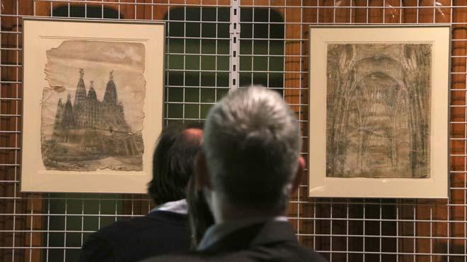 El MNAC incorpora a su colección dos dibujos de Gaudí.