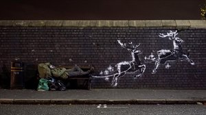 El mural de Banksyen Birmingham.