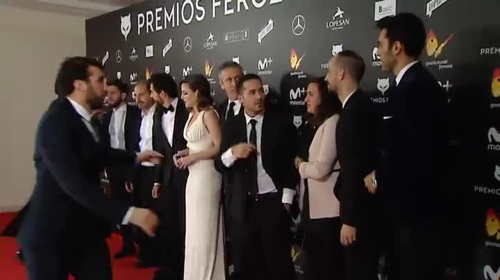 Anoche se entregaron los premios Feroz, otorgados por la prensa cinematográfica.