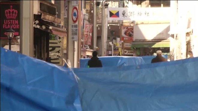 Vuit ferits a Tòquio per un atropellament massiu la Nit de Cap d'Any