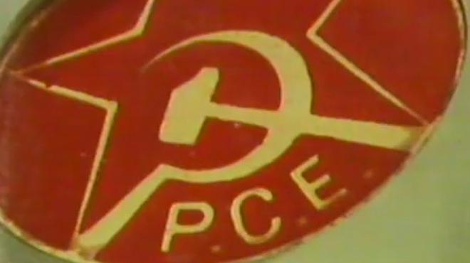 El PCE compleix 40 anys des que va serlegalitzat a Espanya, el 9 d'abril de 1977.