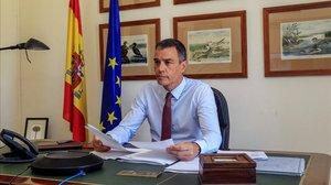 Pedro Sánchez participa en el Consejo Europeo Extraordinario.