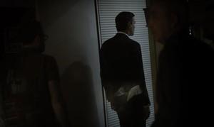 Pedro Sánchez, tras finalizar una comparecencia ante la prensa en la sede del PSOE.