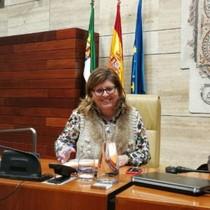 La portavoz deCiudadanos en la Asamblea de Extremadura, María Victoria Domínguez.