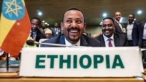 El primer ministro de Etiopía, Abiy Ahmed, en una imagen de archivo.
