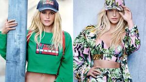La princesa del pop, Britney Spears, resurge de sus cenizas en una nueva campaña de Kenzo.