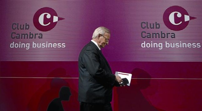 Miquel Valls, presidente de la Cambra de Comerç de Barcelona.