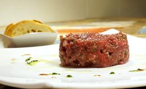 El steak tartar de Dani Lechuga, de Bardeni.
