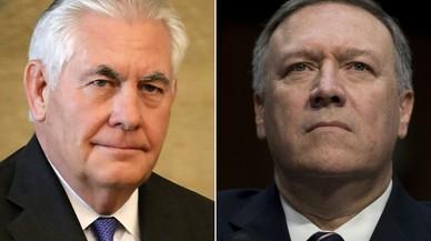 Trump endurece la política exterior con el cese de Tillerson